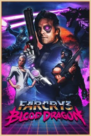 Far Cry 3 Blood Dragon Artwork