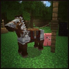 Cheval Minecraft