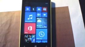 écran d'accueil nokia lumia 520