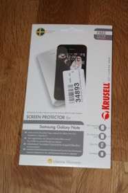 Protection d'écran Samsung Galaxy Note Krusell Self Healing