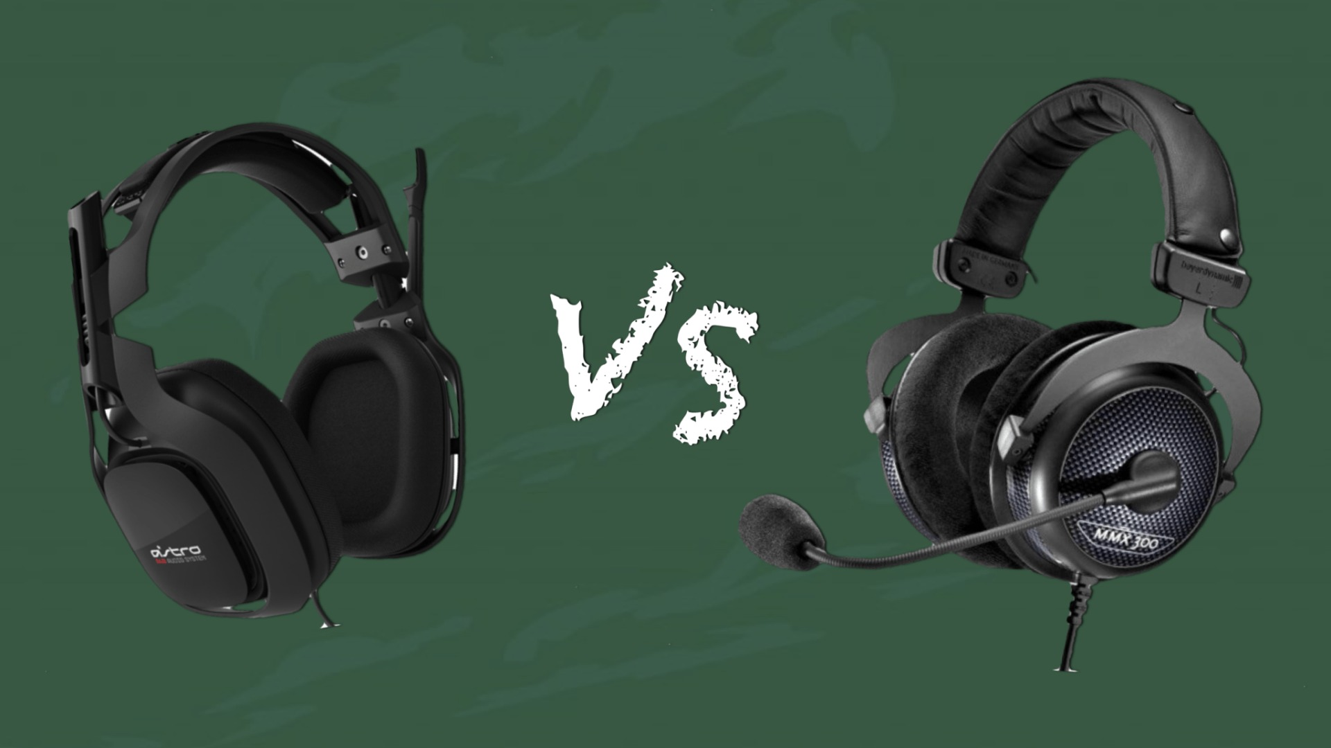 Photo de [VIDEO] Comparatif entre deux casques, le MMX-300 et l'A40