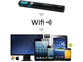 IRIScan et utilisation du Wifi