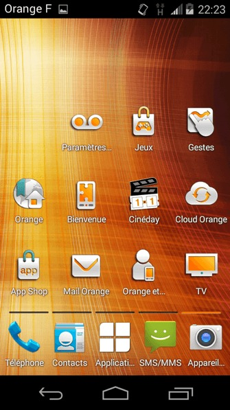 Les application Orange