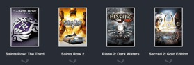 Humble Daily Bundle  Deep Silver ReBundle  pay what you want and help charity