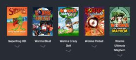 Humble Daily Bundle  Team 17  pay what you want and help charity