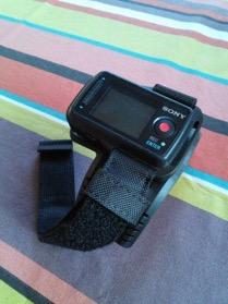 La montre avec l'écran, bien pratique