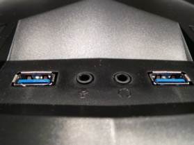 Ports USB 3.0, prises casque/micro