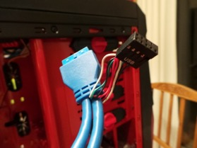 Port USB 3.0 avec adaptateur USB 2.0
