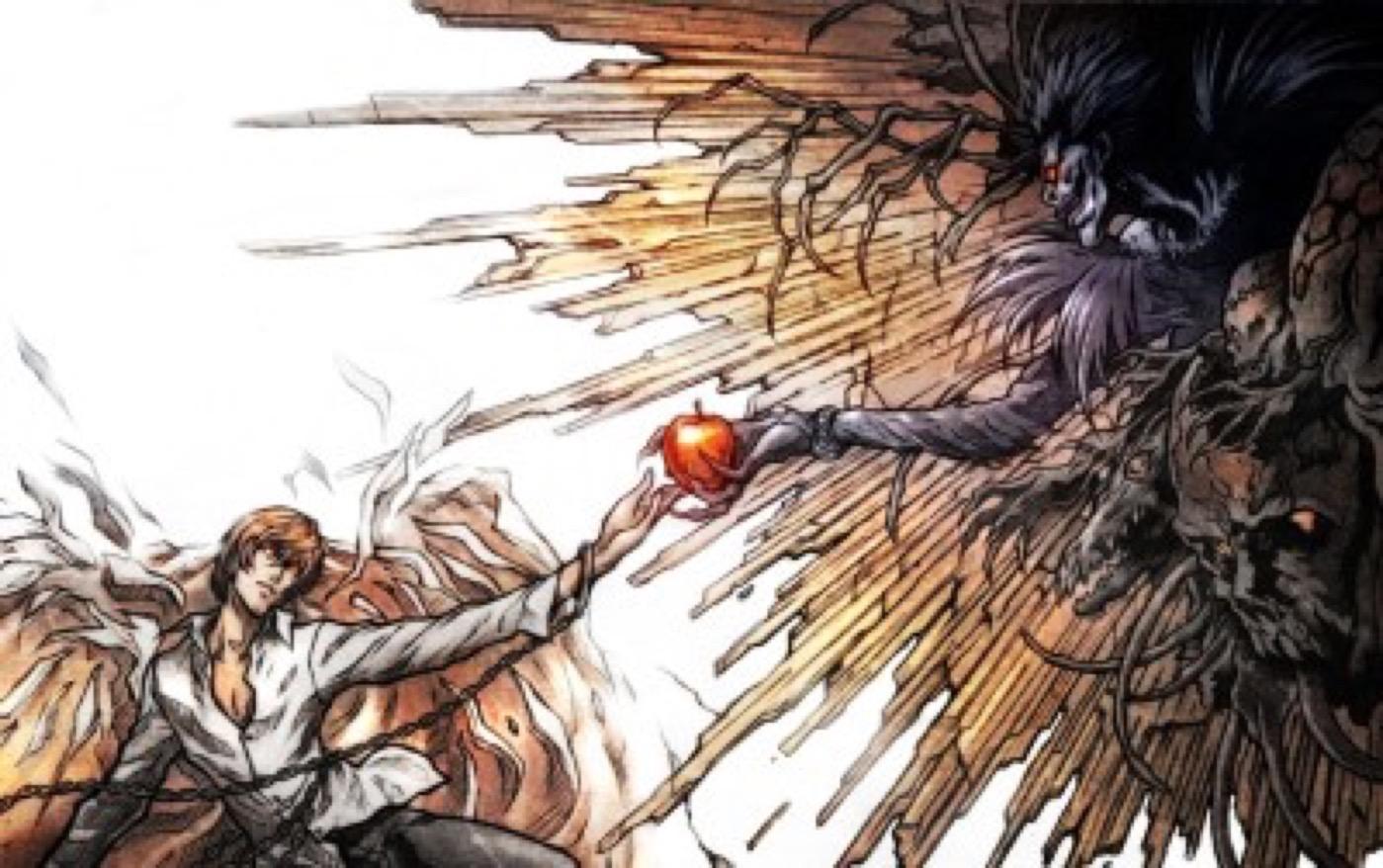 death_note_ryuk_yagami_light_apples_desktop_2229x1_by_gelatin95-d5sjwrs