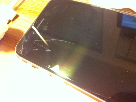 iPhone 6 Scratch