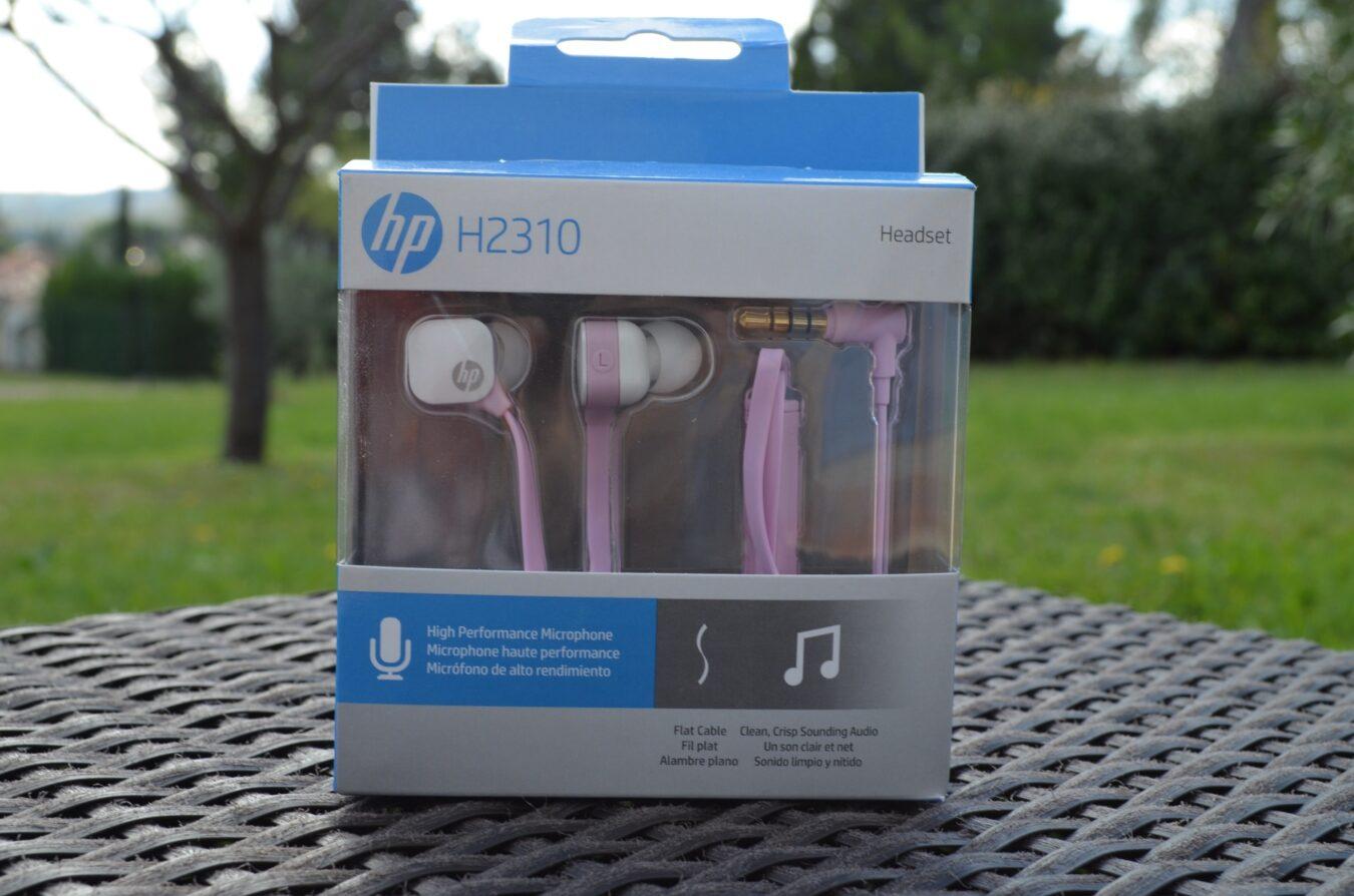 Photo de [TEST] HP H2310 – Des écouteurs pour un prix attractif