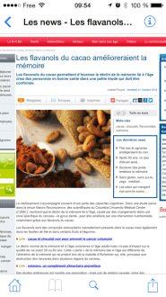 Prévisualisation d'une archive web transformée en PDF