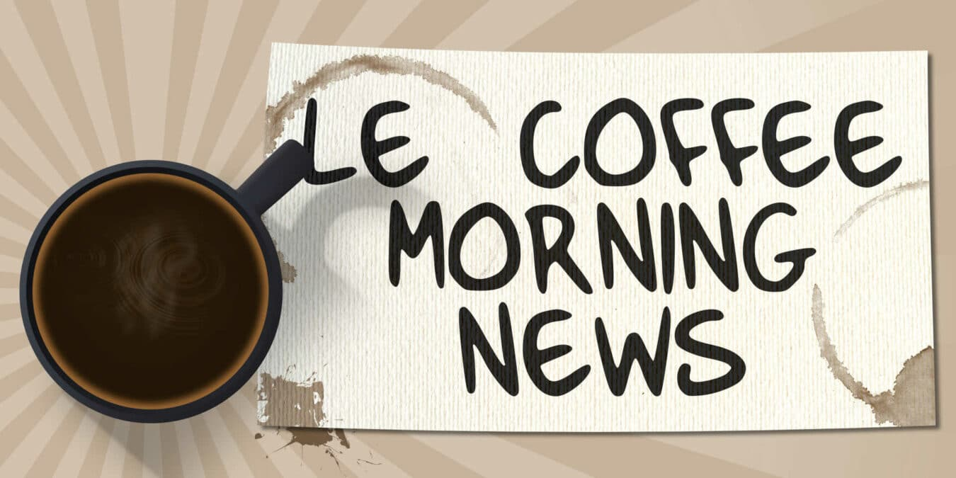 Photo of The Coffee Morning News – 02/02/16 – Panne et sans fil !