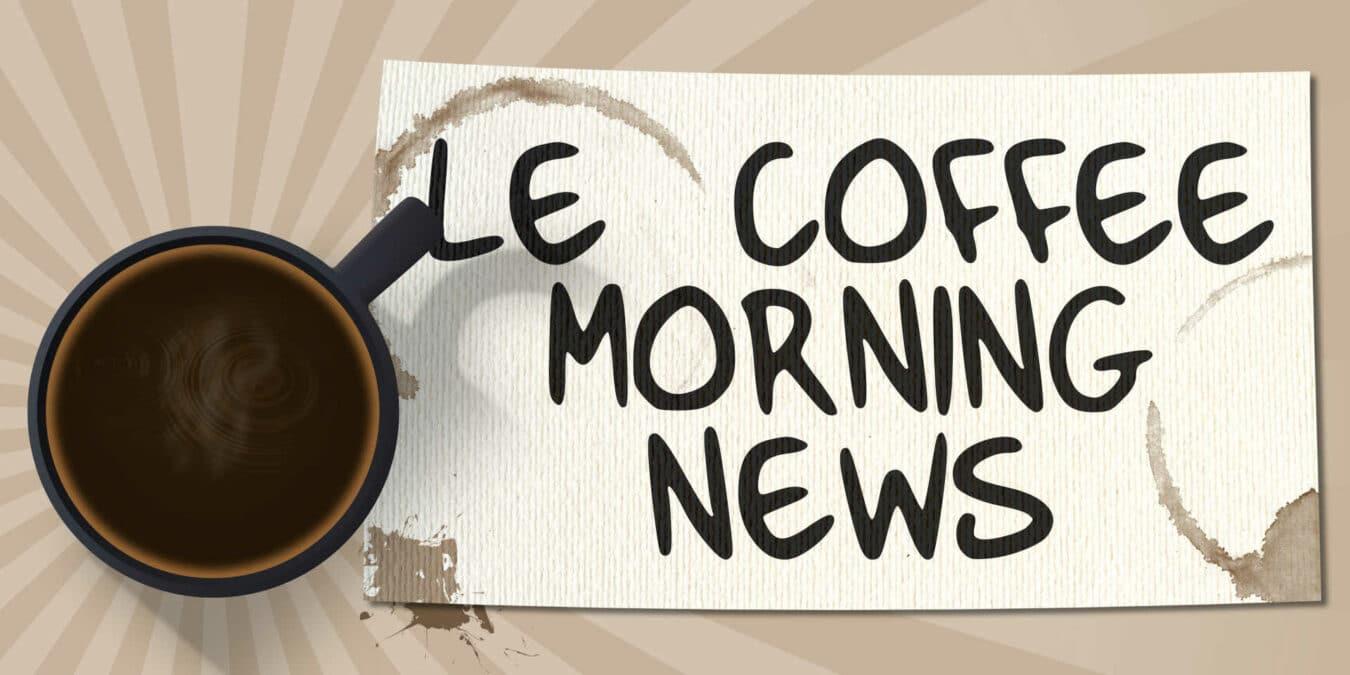 Photo de The Coffee Morning News – 02/02/16 – Panne et sans fil !