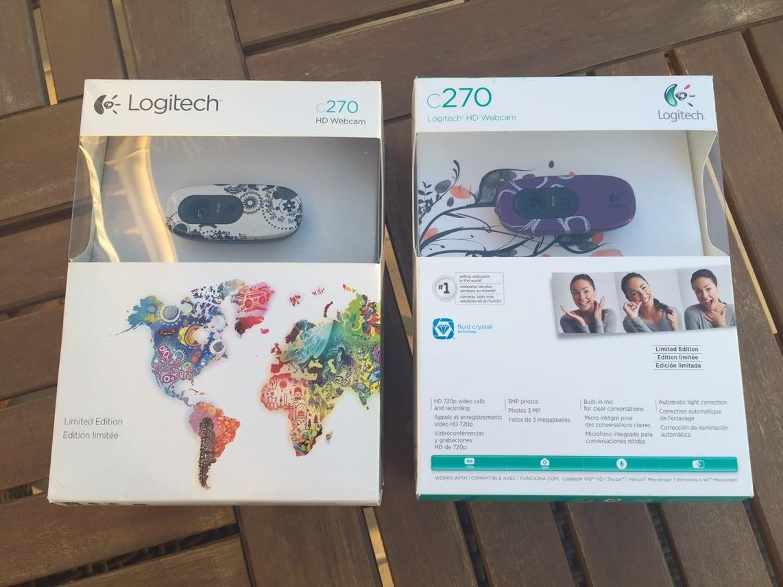 Photo de [Concours Noël] 2 Webcams Logitech C270 HD Edition Limitée à gagner !