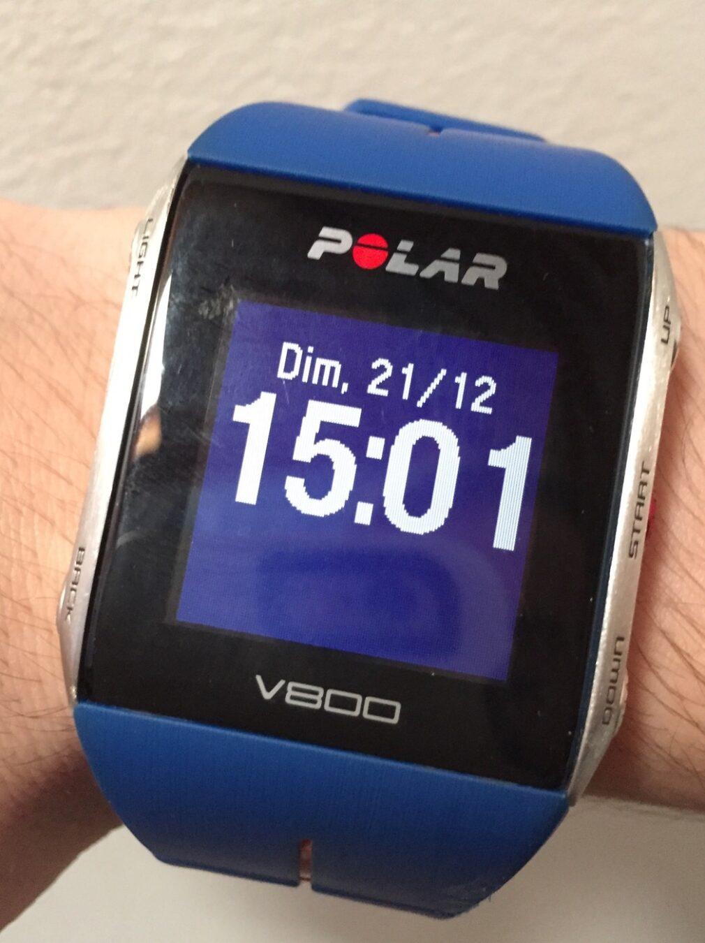 Photo de [TEST] Polar V800 – Une montre sportive pour tous, tout terrain et tout temps !