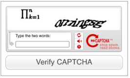 captcha impossible