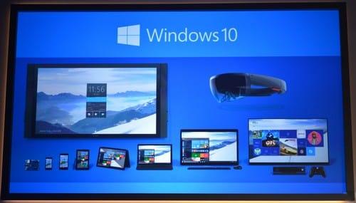 Photo de Conférence Microsoft : Windows 10, et d'autres nouveautés !