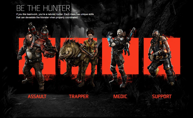 Hunters-Evolve