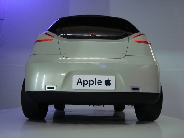 Photo de Une voiture made in Apple ?