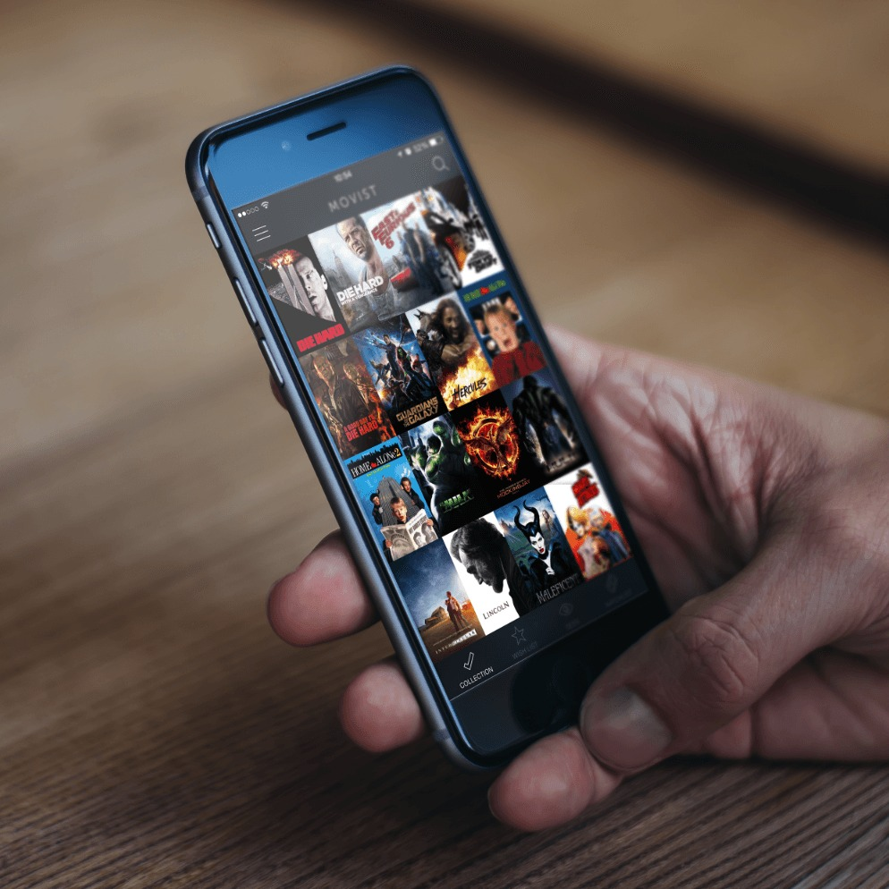 Photo de [App] Movist – Votre historique de film sur iPhone