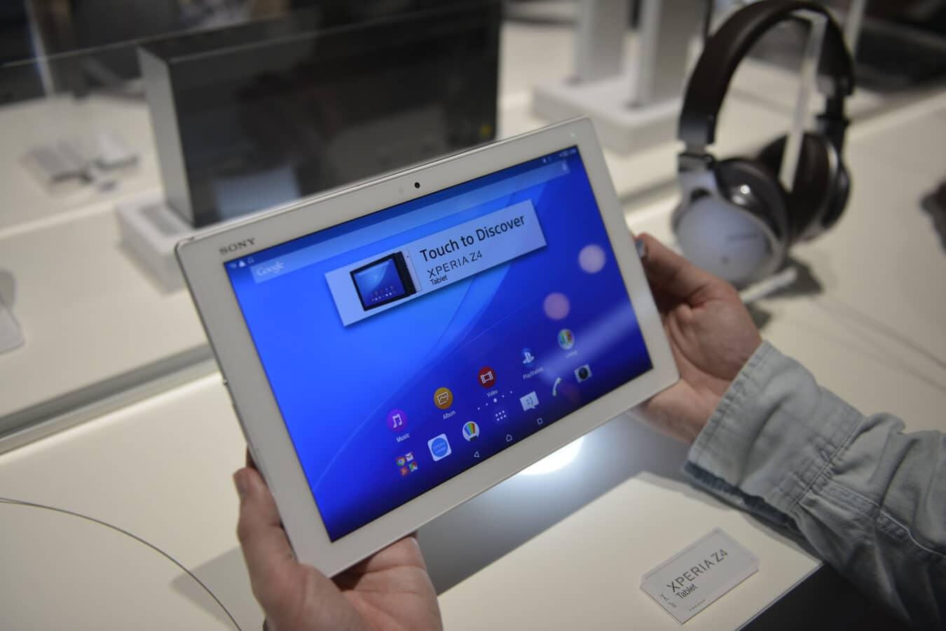 Photo de [MWC] Xperia Z4 Tablet – La nouvelle tablette de Sony