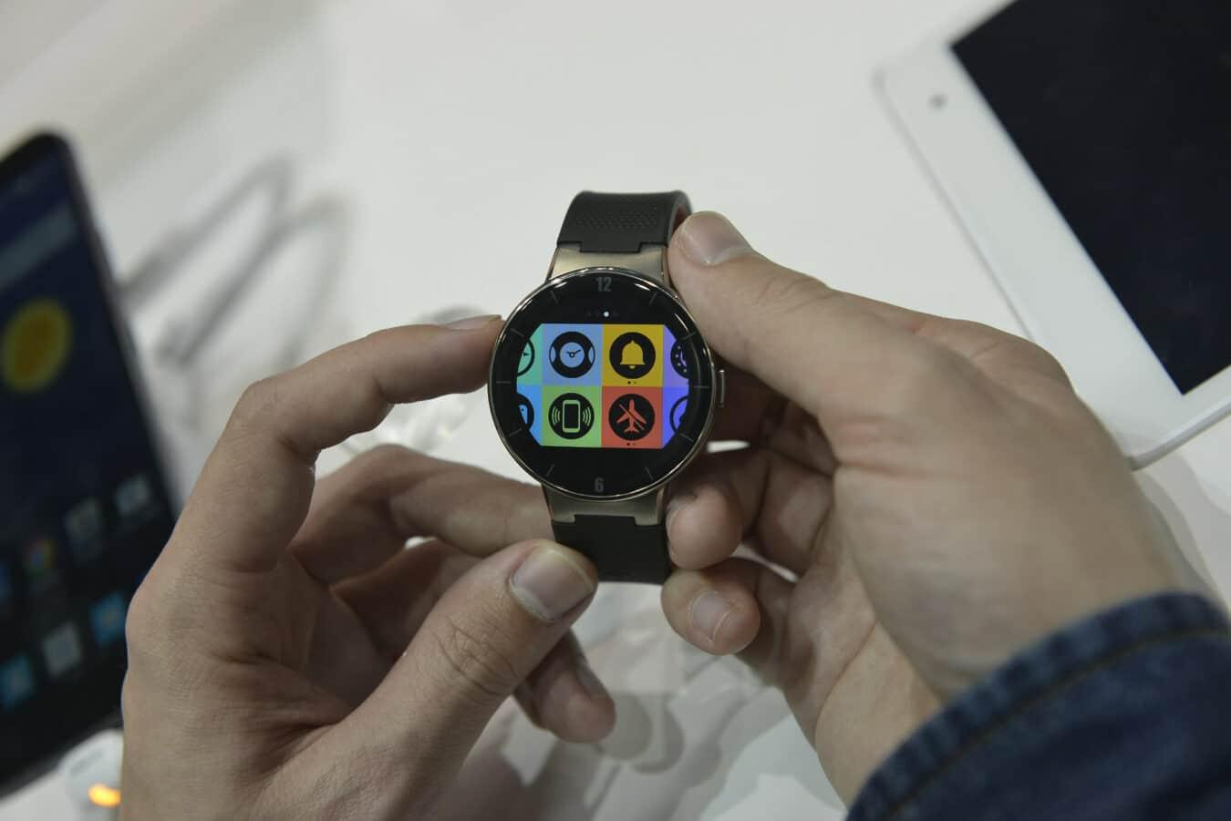 Photo de Première utilisation de la montre Alcatel Watch