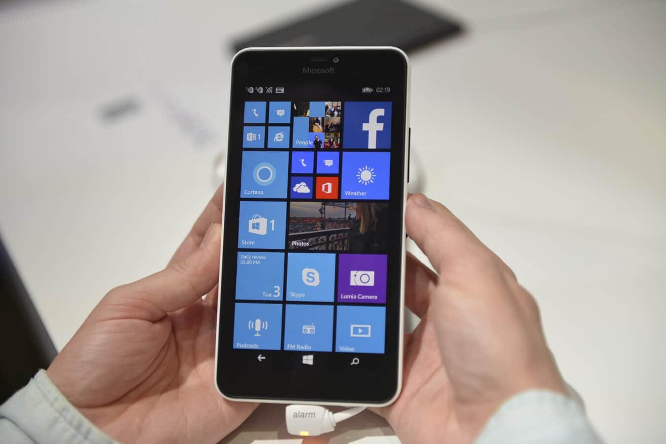 Photo de [MWC] 2 nouveaux Lumia et un clavier pliable