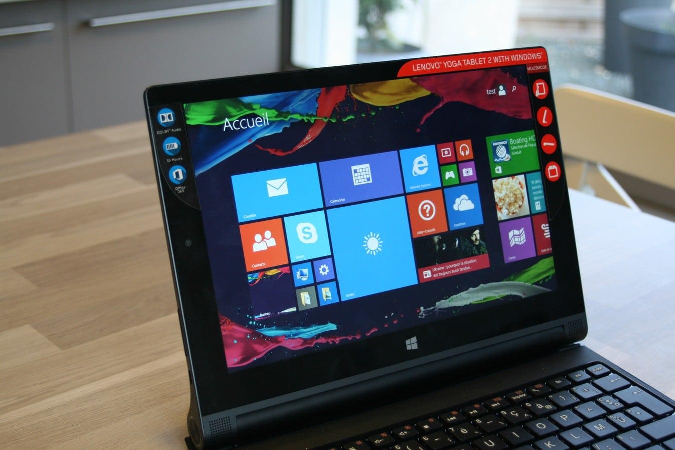 [TEST] Lenovo Yoga Tablet 2 – La fameuse Yoga sous Windows ...