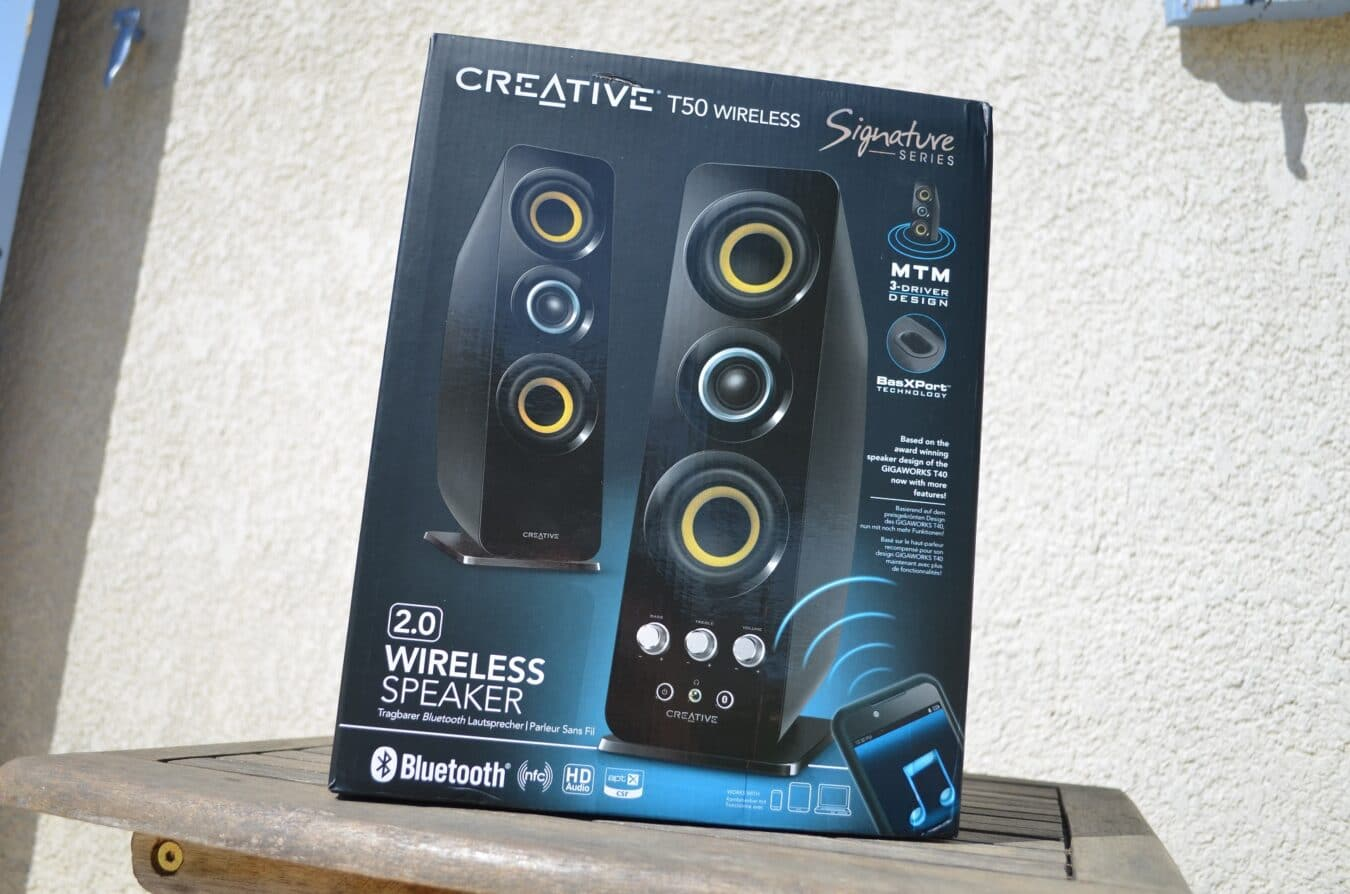 Photo de [TEST] Creative T50 Wireless – L'alliance du goût et de la qualité