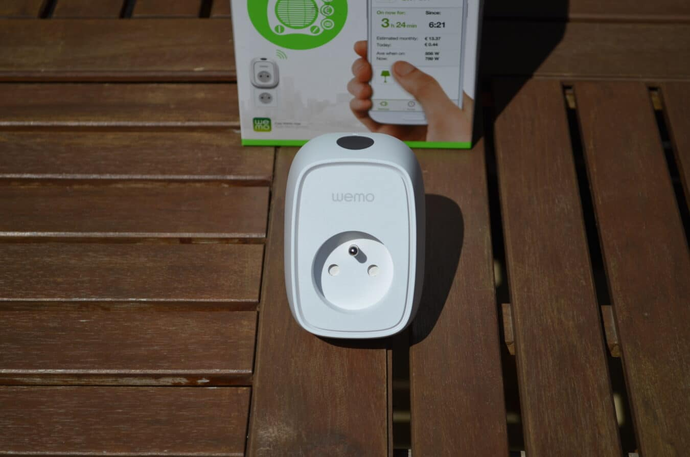 Photo de [TEST] WeMo Insight Switch – Une prise ultra connectée