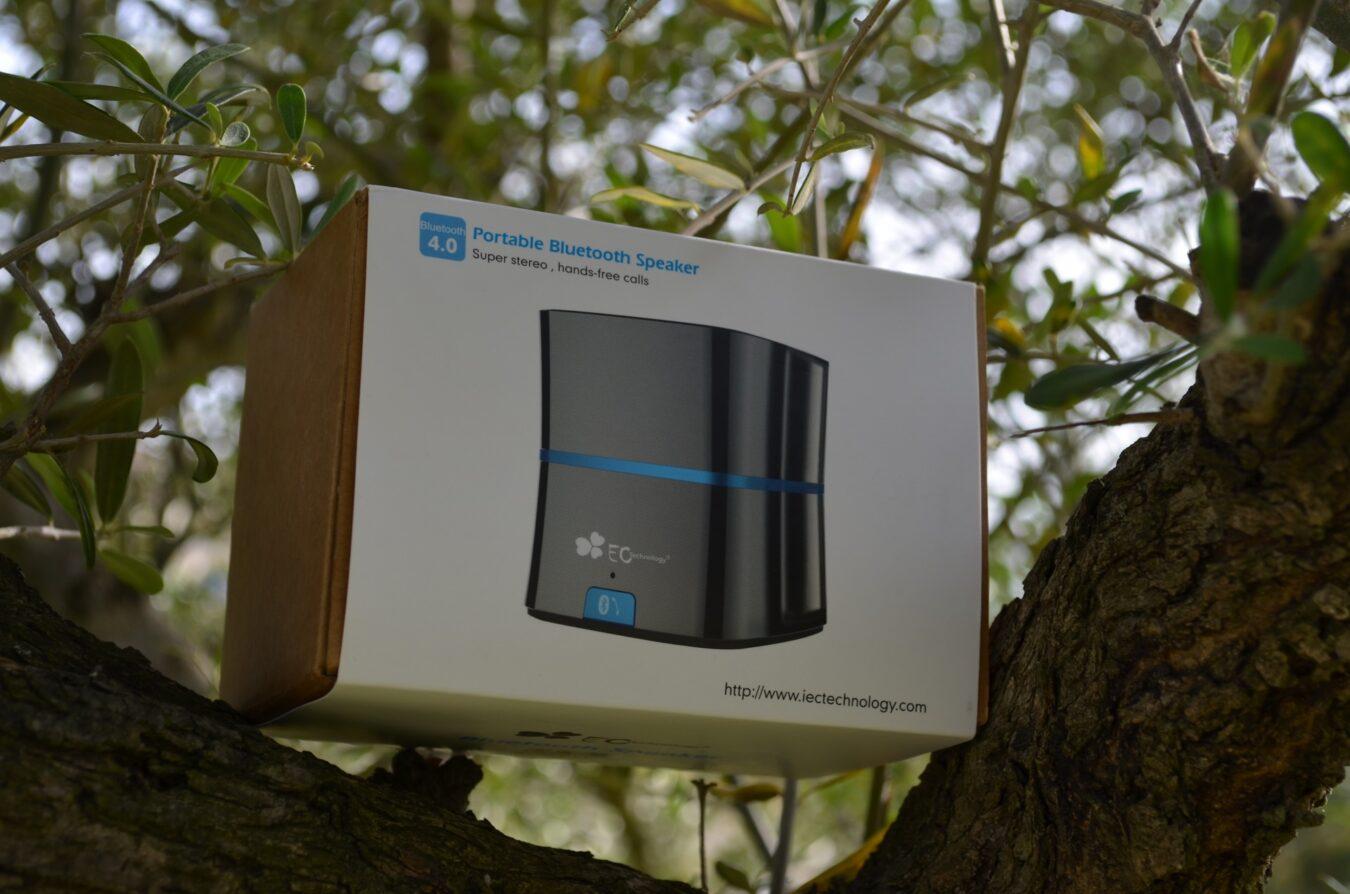 Photo de [TEST] C'est facile d'écouter la musique avec EC Technology et son enceinte Bluetooth !