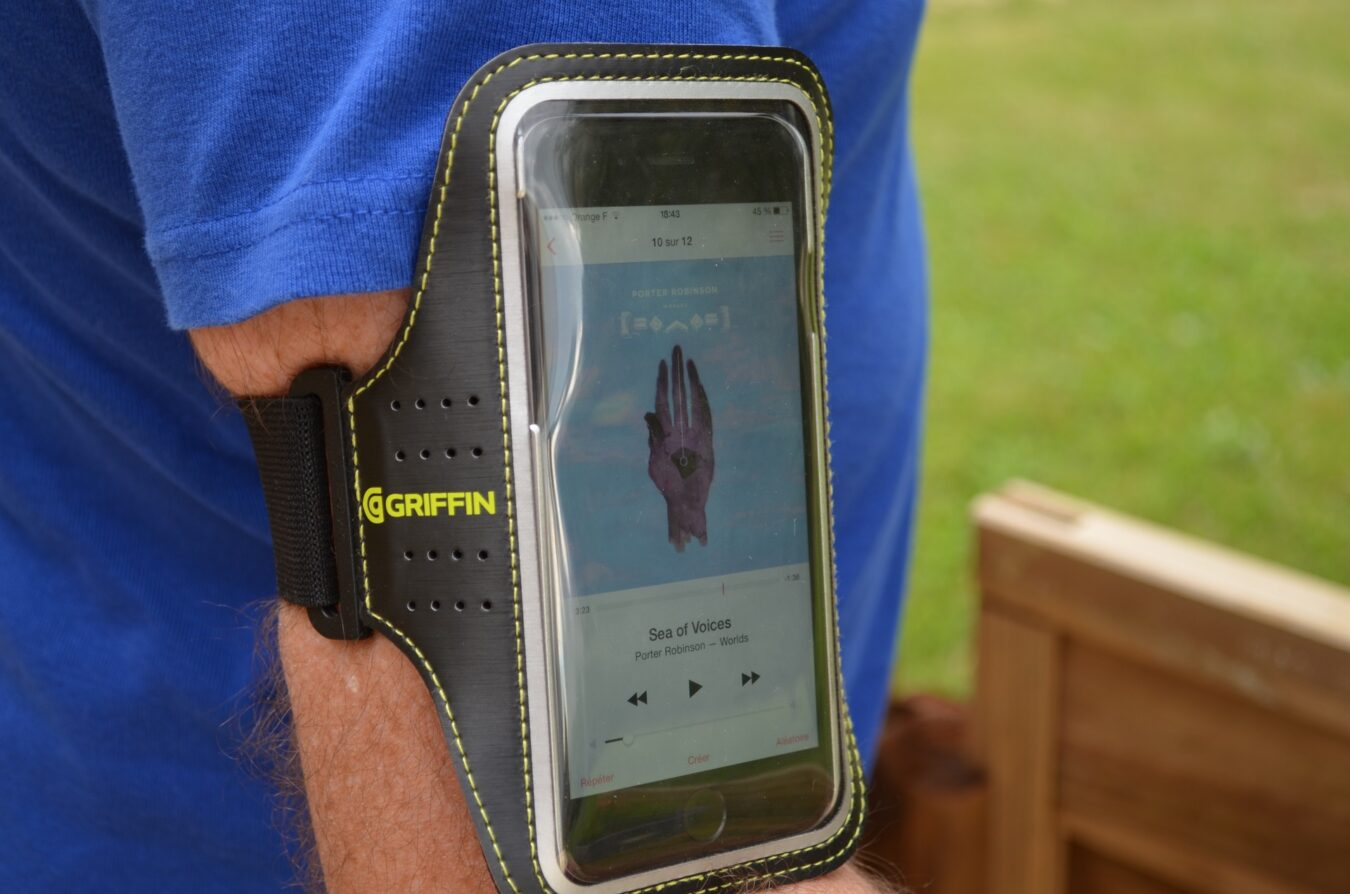 Photo de [TEST] Griffin Trainer – Un brassard de sport pour iPhone 6