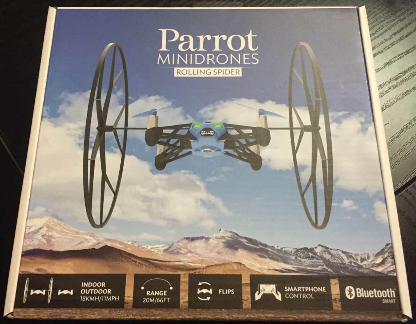 Photo de [CONCOURS] Gagne ton Rolling Spider de Parrot (100€) !