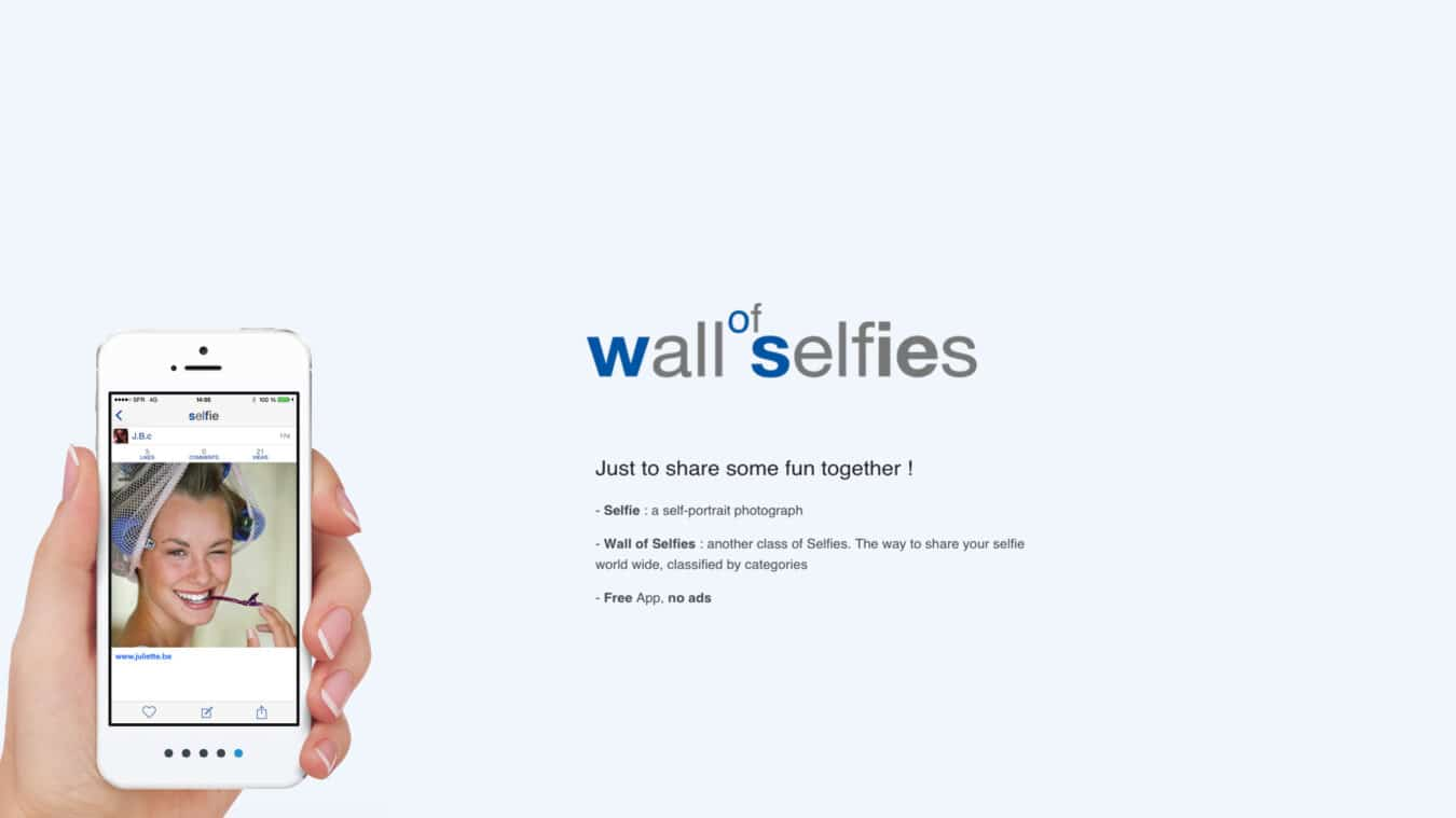 Photo of [NEWS] Wall of Selfies – Aidez ce Niçois à battre le record du monde