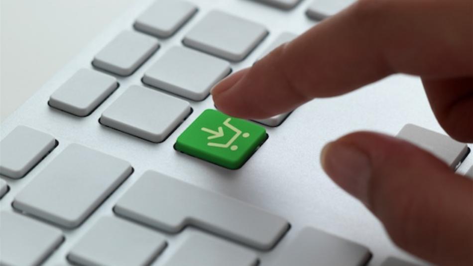 Bouton achat sur un clavier