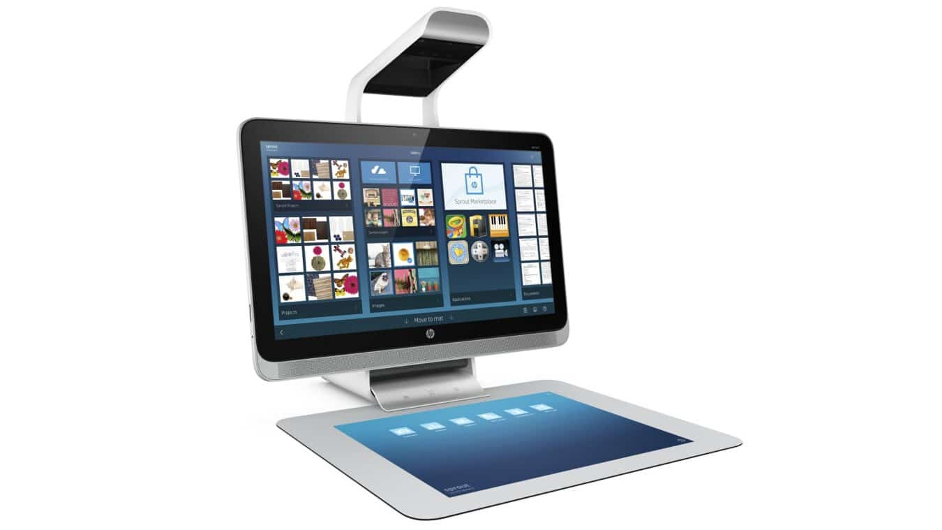 Photo de [NEWS] HP Sprout – Un concept novateur pour les designers