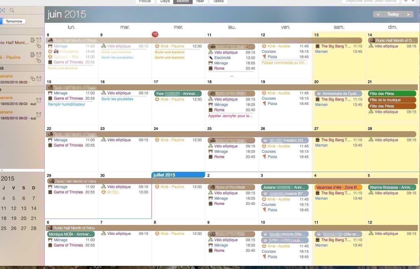Photo de [TEST] Desktop Informant – Un calendrier Mac génial à prix réduit