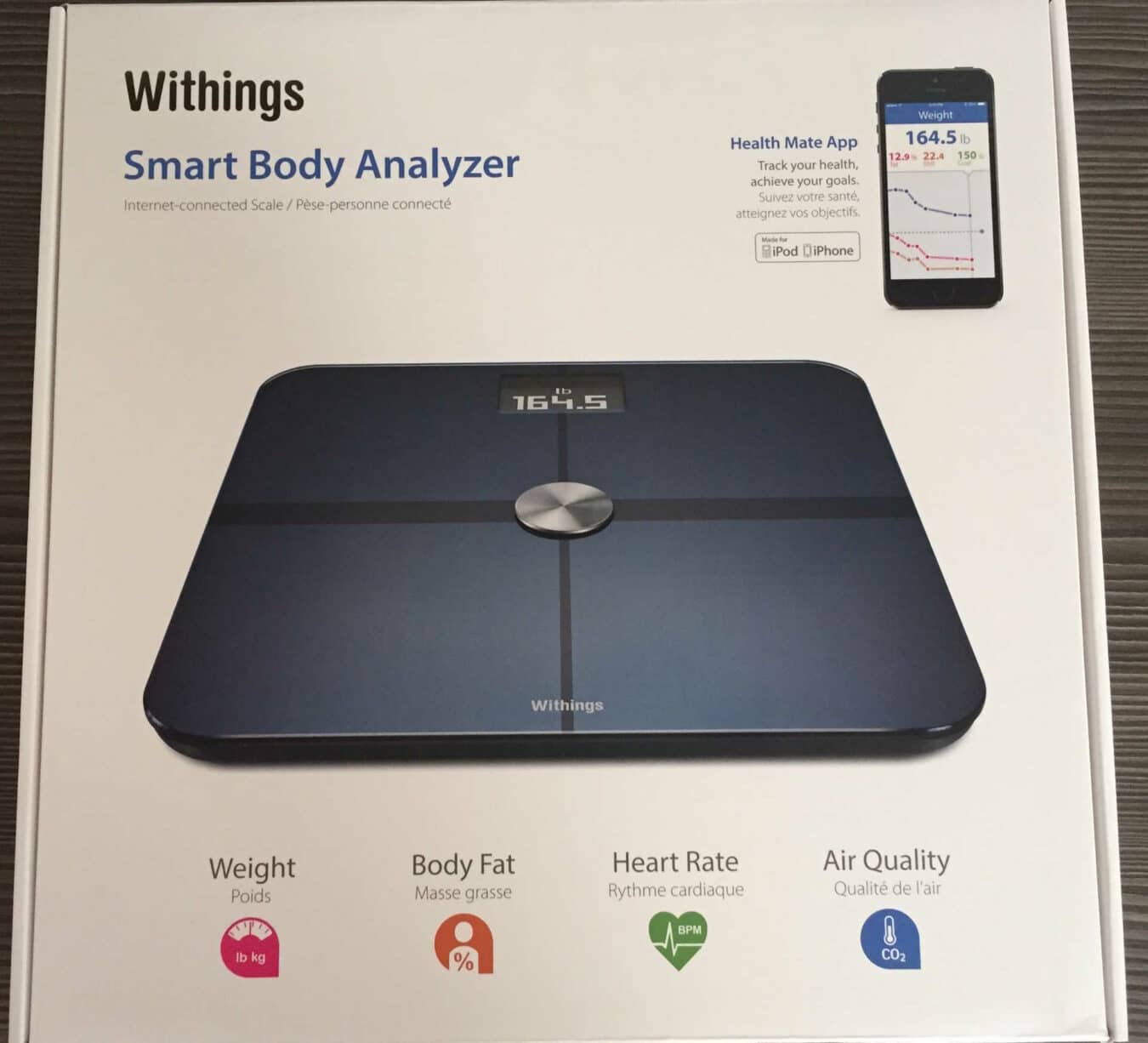 Photo de [Unboxing] Withings Smart Body Analyser
