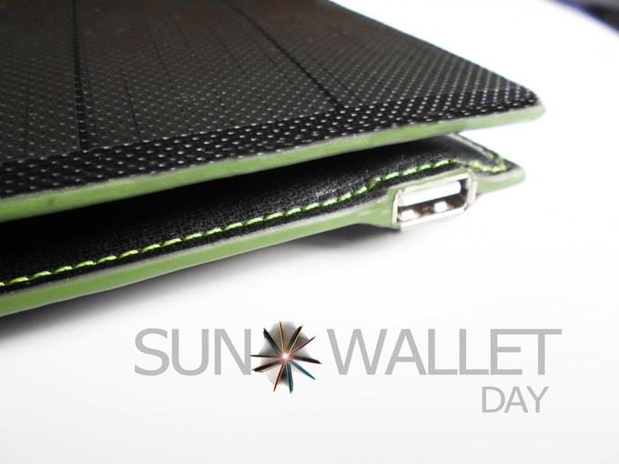 Photo de Kickstarter Coffee Award – Suno Wallet, le portefeuille solaire
