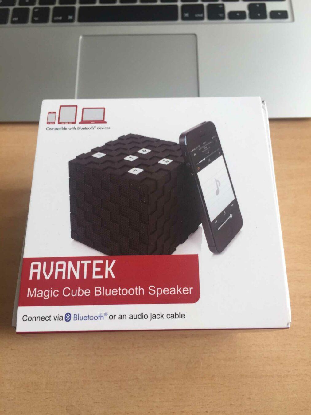 Photo de [TEST] AVANTEK Magic Cube – L'enceinte bluetooth cubique