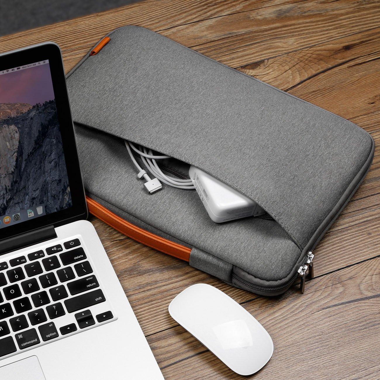 Photo de Sacoche Inateck pour MacBook Pro – Une sacoche avec poignée, simple, pratique et pas chère