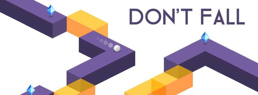 Photo de [APP] Don't Fall, le nouveau jeu de Ketchapp