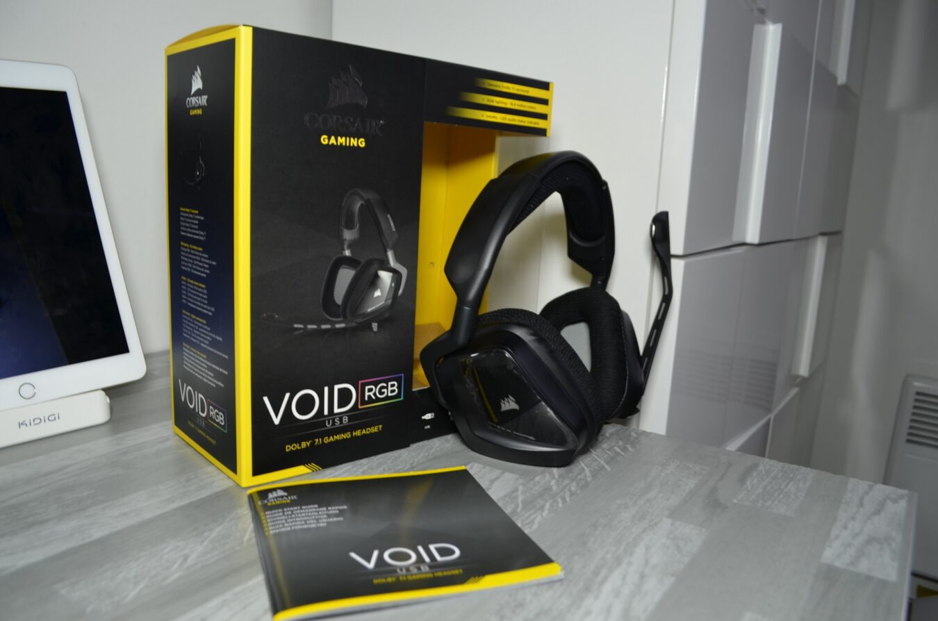 Photo de [TEST] Corsair VOID RGB – Le confort du Dolby 7.1
