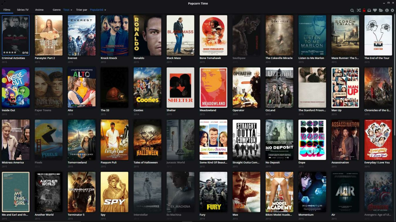 Photo de PopCorn Time est de retour, voici la solution !
