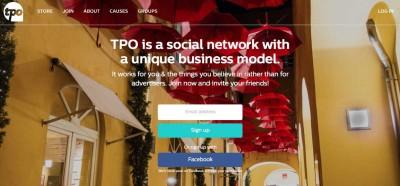 TPO page d'accueil du réseau social de Jimmy Wales, fondateur de Wikipédia