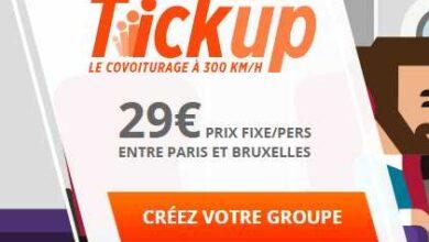 Photo of Tick'Up de Thalys – Le covoiturage Paris-Bruxelles à 300 km/h pour 29€ !