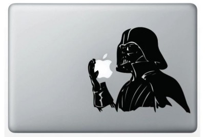 Sticker Dark Vador sur Mac
