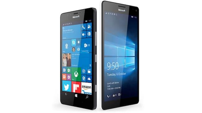 Lumia 950 et 950XL