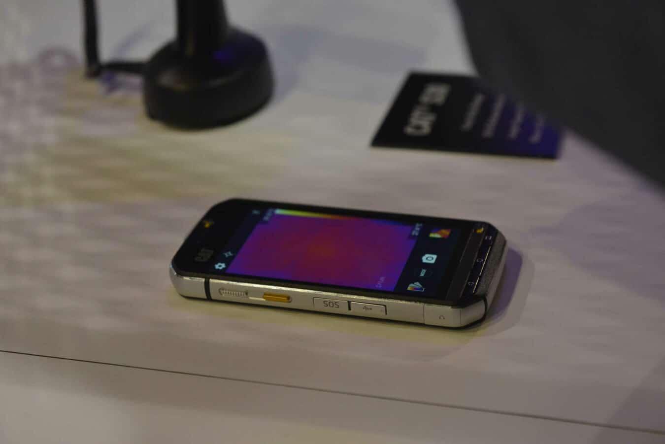 Photo de #MWC2016 : Cat S60 – Un téléphone qui cumule les nouveautés